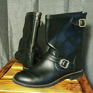 Black Dexter Motorcycle Boots